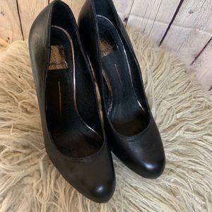Dolce Vita Shoes - DOLCE VITA MADISON BLACK HEELS IN BLACK NAPPA, 9